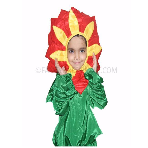 Sunflower Red Costume
