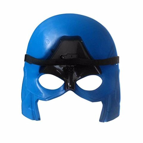 Captain America Mask and Plastic Shield ComboCaptain America Mask and Plastic Shield Combo