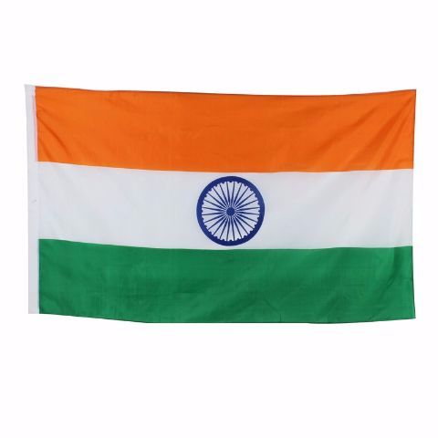 "Indian Flag Size 40"" x 28"""