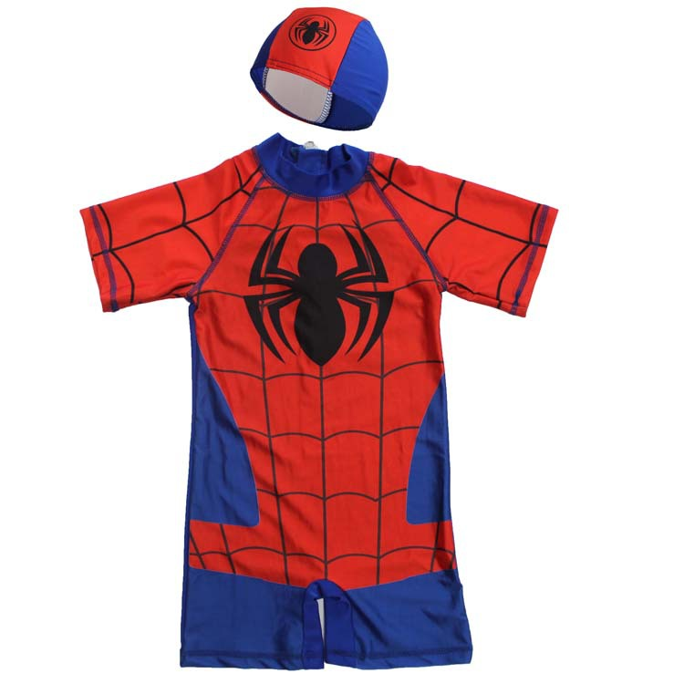 Spiderman swimming costume for kids