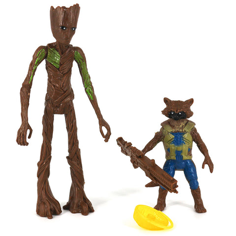 Groot and Rocket  Avengers Marvel Legend series Toy Figure