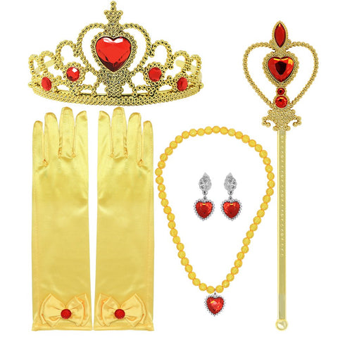 Belle Princess Golden accessories for Girls
