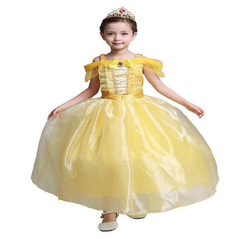 Belle Princess Dress with Accessories Set