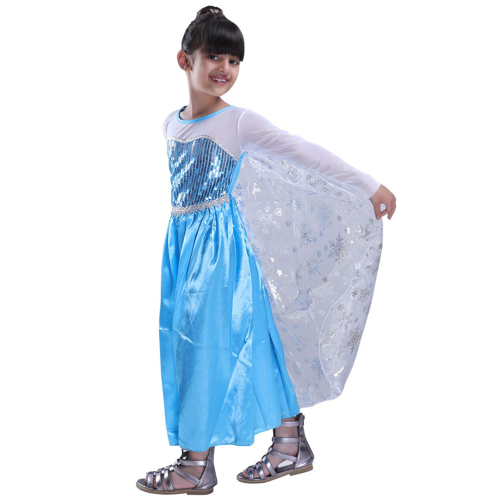 Frozen Queen Elsa costume for Girls - Only Gown
