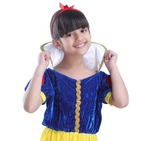 Snow White Little Girl Princess Dress