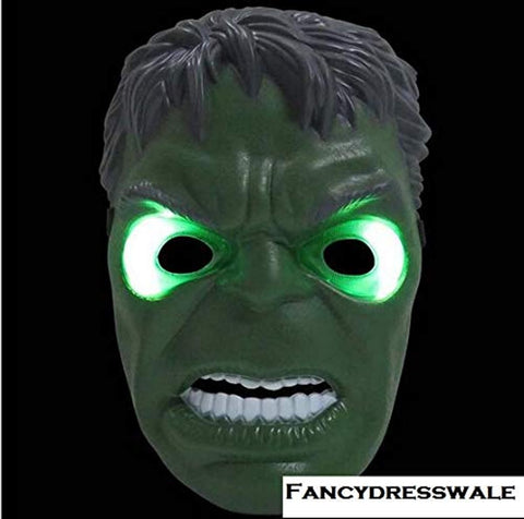 Hulk Avenger Muscle Costume with LED Mask