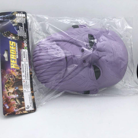 Thanos Superhero The Avengers Costume LED Light Eye Mask