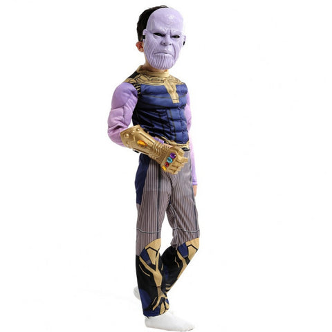 Fancydresswale Avengers Thanos Costume with Infinity Gauntlet and Mask