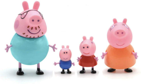 Peppa Pig family of 4 toy at wholesale price