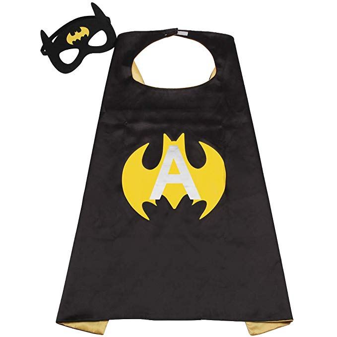 Bat Boy Black Colour Super Hero Capes For Boys