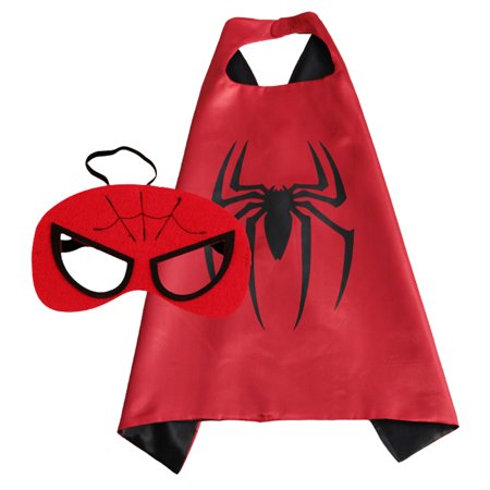 Fancydresswale Spider Man Super Hero Cape For Boys