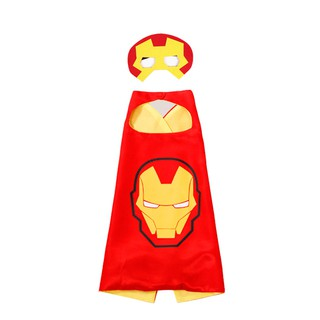 Fancydresswale Iron Man Super Hero Cape For Boys