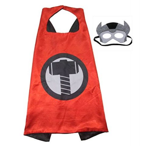 Thor Super hero Cape For Boys