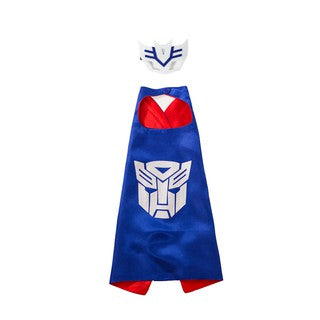 Transformer Blue Colour Super Hero Cape For Boys
