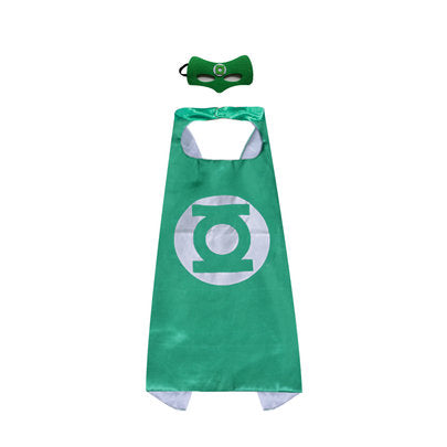 Green lantern Super Hero Cape For Boys