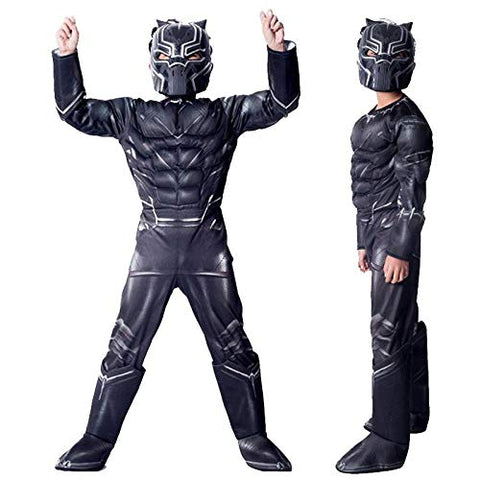 Black Panther dress for boys - The End Game Superhero costume