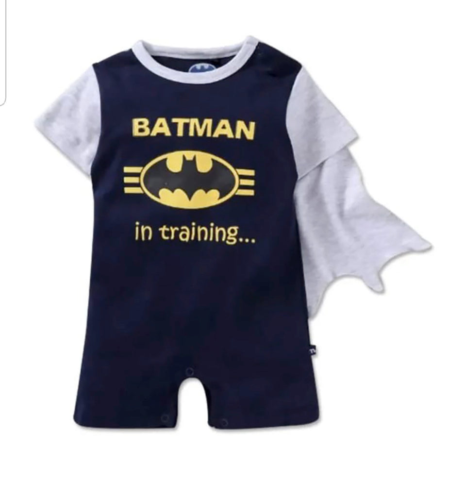 Fancydresswale Batman superhero Romper for Infants and Newborns Boys