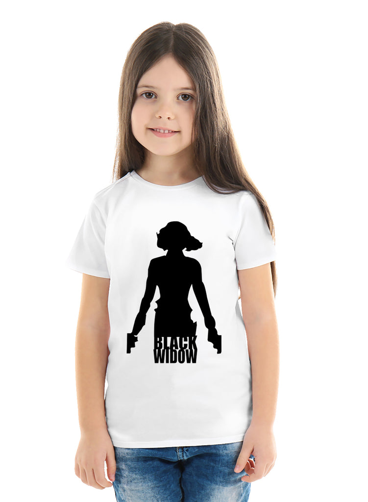 Avengers Black Widow T shirt for Girls