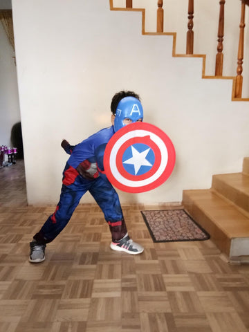 Fancydresswale Captain America dress for boys