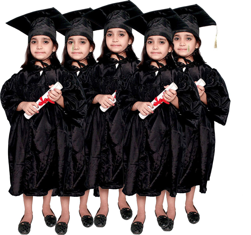 Convocation Gowns for Kids & Adults  pack of 5