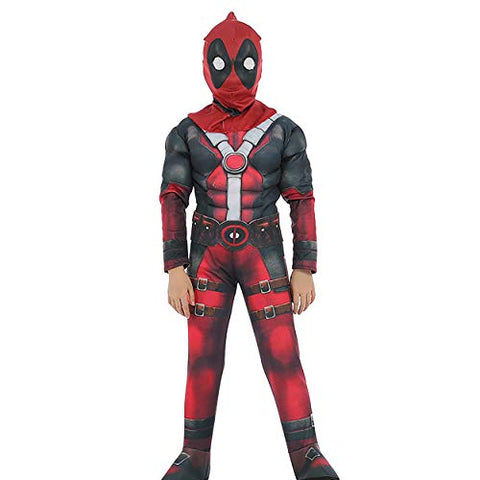 Fancydresswale Deadpool muscle costume for kids