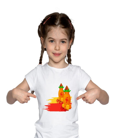 Navratri T-Shirt for Girls