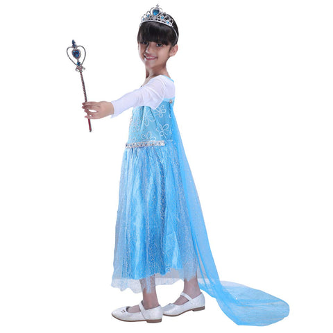 Elsa Costume For Girls