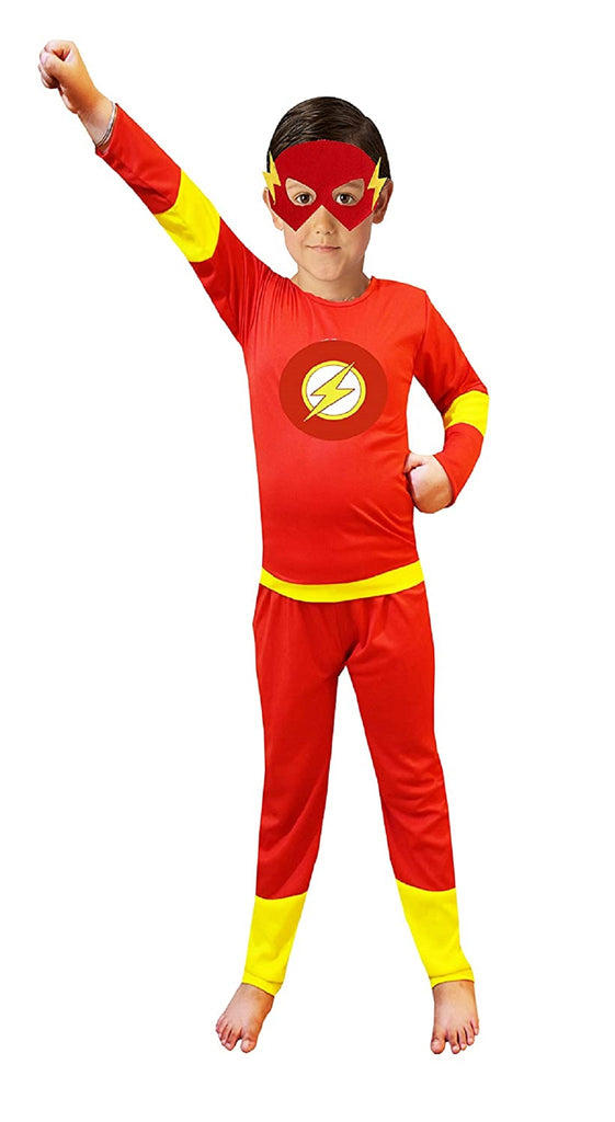Flash Costume with Mask