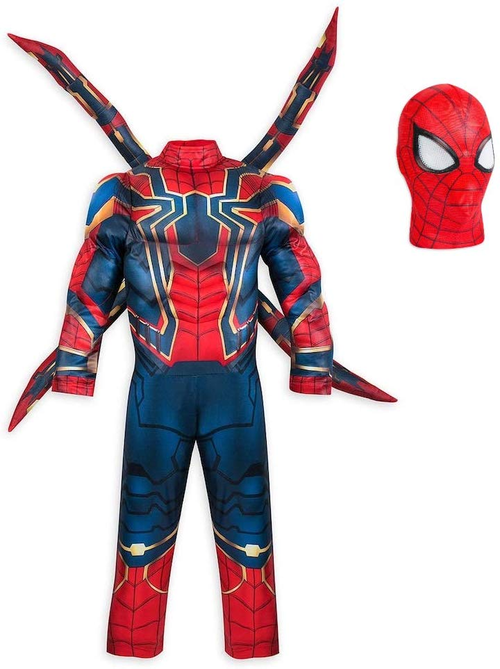 Iron Spider BOY Dress with Pullover mask