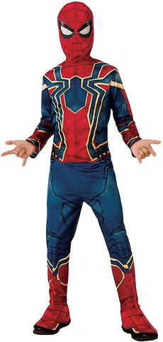 Spiderman dress for boys- The infinity war Spiderman suit costume for kids