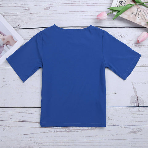 FancyDressWale Surgeon Dress for Boy and Girls, Doctor and Nurse Costume for Kids with Mask and Surgeon Cap, Blue Color