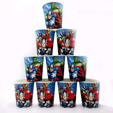 Avengers Theme Birthday Party Supply Mega Pack for 12 Guests 16 Items 179 Pcs