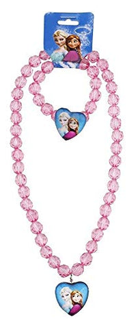 Frozen Party Flavour Necklace and Bracelet Set- Anna