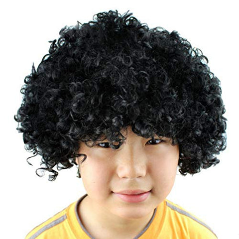 FancyDressWale Colorful Unisex Party Prop Wigs for Kids and Adults