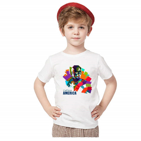 Captain America T-Shirts for Boys