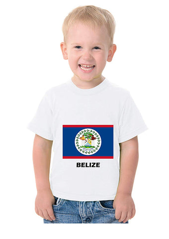 Country National Flag Costume Theme T Shirt for Kids