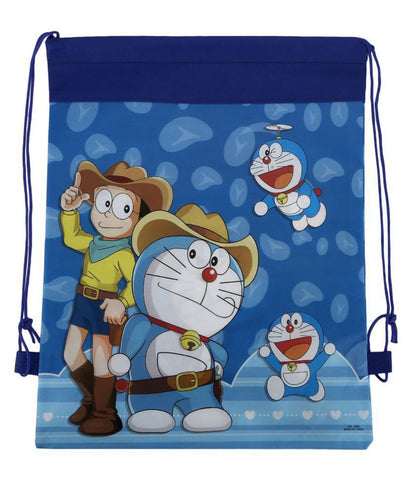 Doraemon Theme Dori Haversack Goodies Bag (Blue) - Pack of 12 Pieces