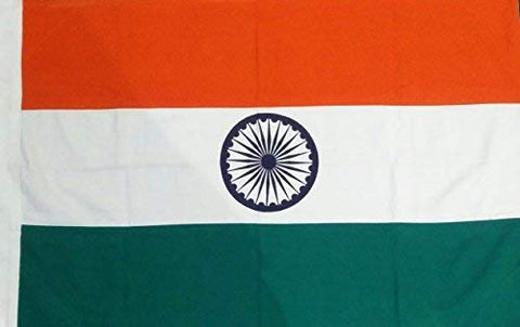 "Indian Flag Size 28"" x 18"""