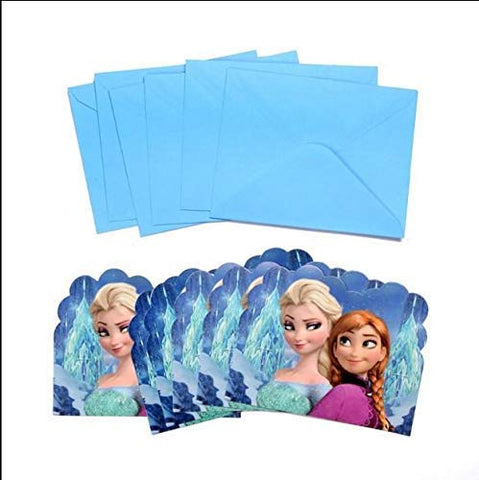 Frozen Theme Supply Mega Pack for 12 Guests 16 Items