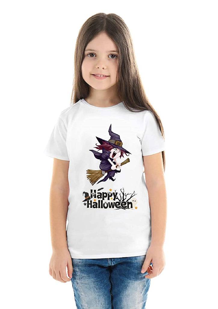 Halloween T-Shirts Dress For Girls H11