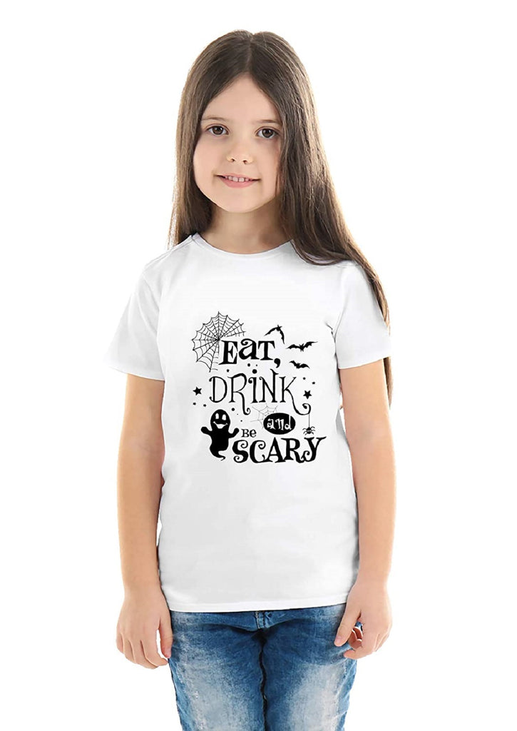 Halloween T-Shirts Dress For Girls H15