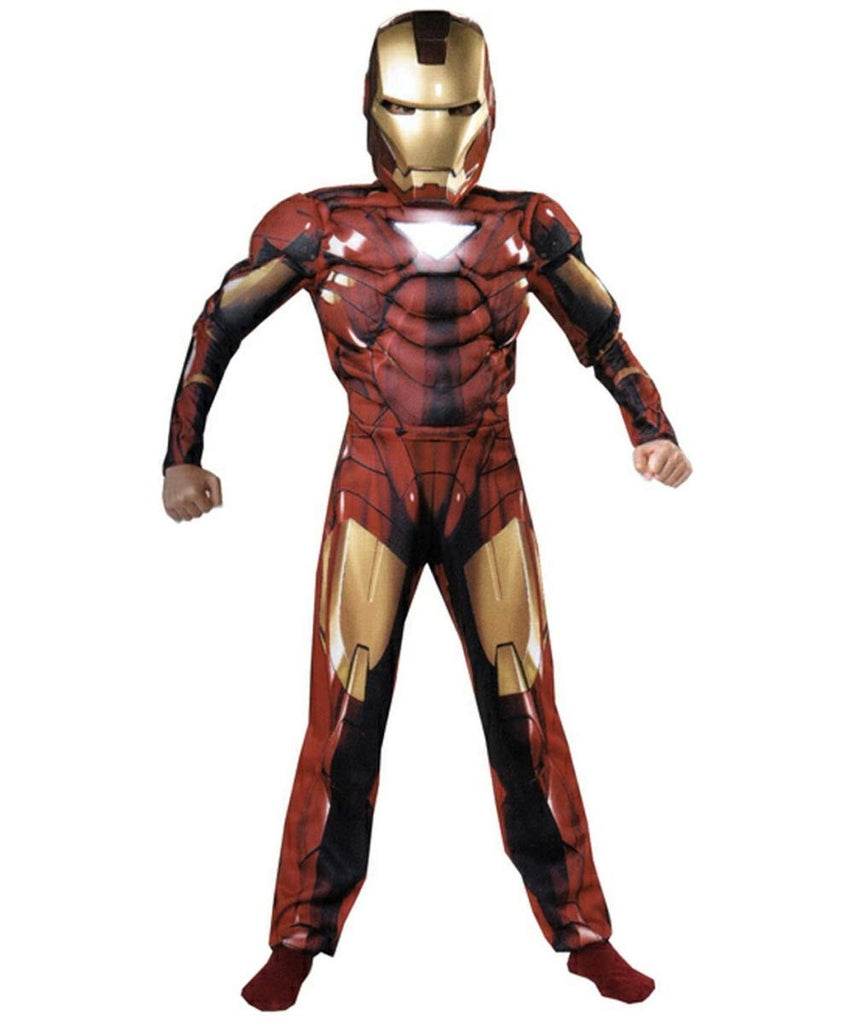 Superhero Avengers Muscles Costumes for Adults- Ironman