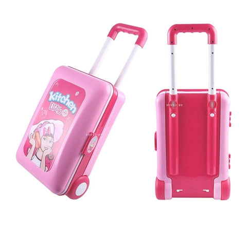 Kitchen Set Trolley With LIght and Music For Kids