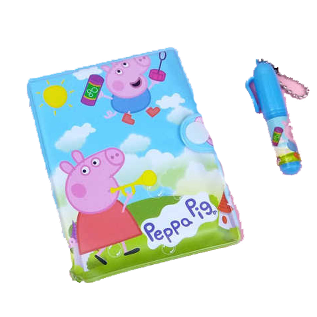 Peppa Pig Diary for Kids with Pen
