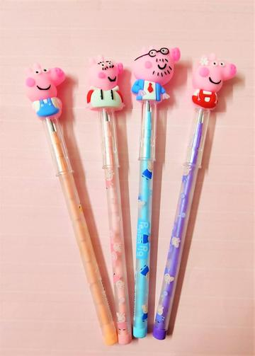 Peppa Pig Pencils Birthday Gifts/Return Gift for Kids (Pack of 4)