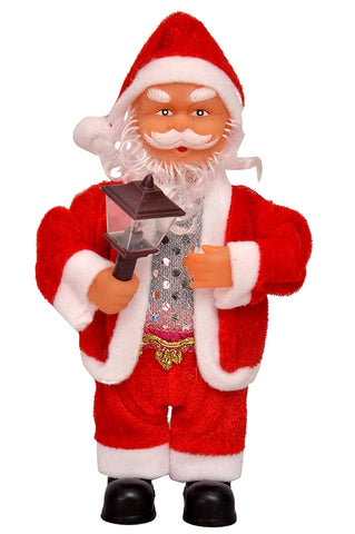 Santa Claus with Lamp (Musical ,Light Toy) Christmas Gift
