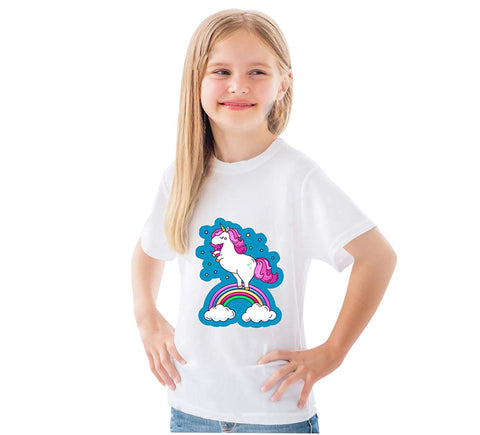 Unicorn Princess T-Shirt Dress for Girls