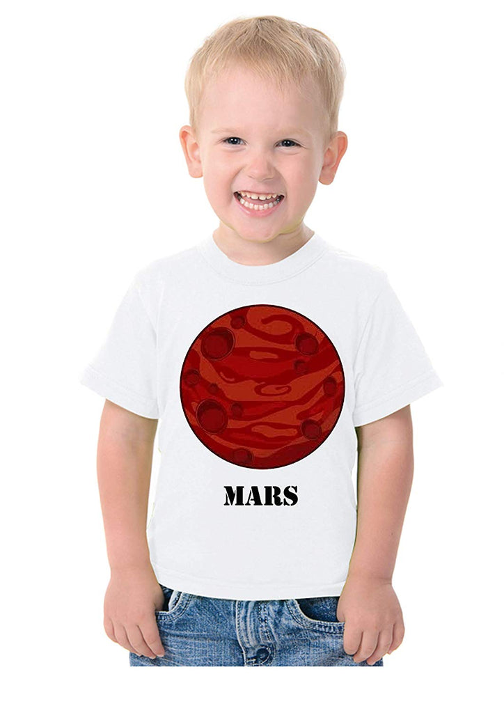 Solar System Planets Theme T-Shirt for Kids