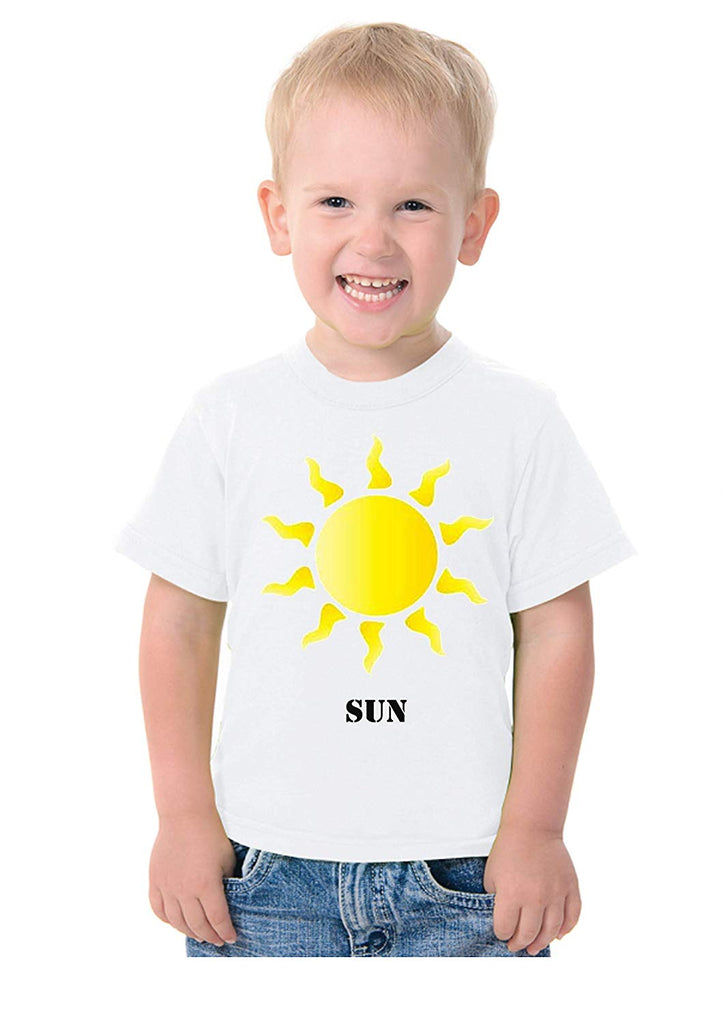System Planets Theme T-Shirt for Kids