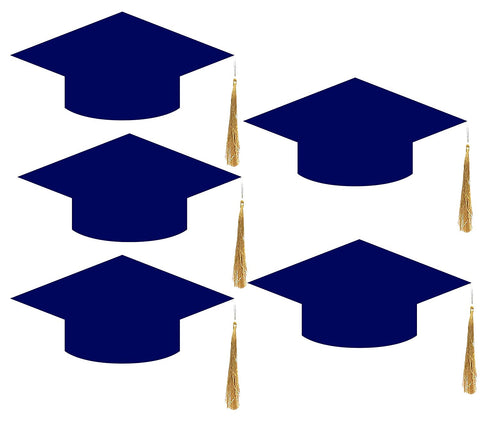 Convocation Cap for Kids, Blue